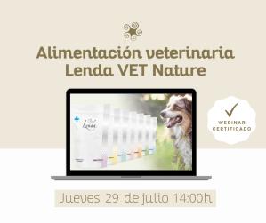 Webinar Alimentación veterinaria Lenda VET Nature