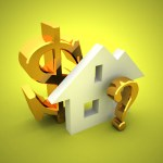 dollar house questionmark