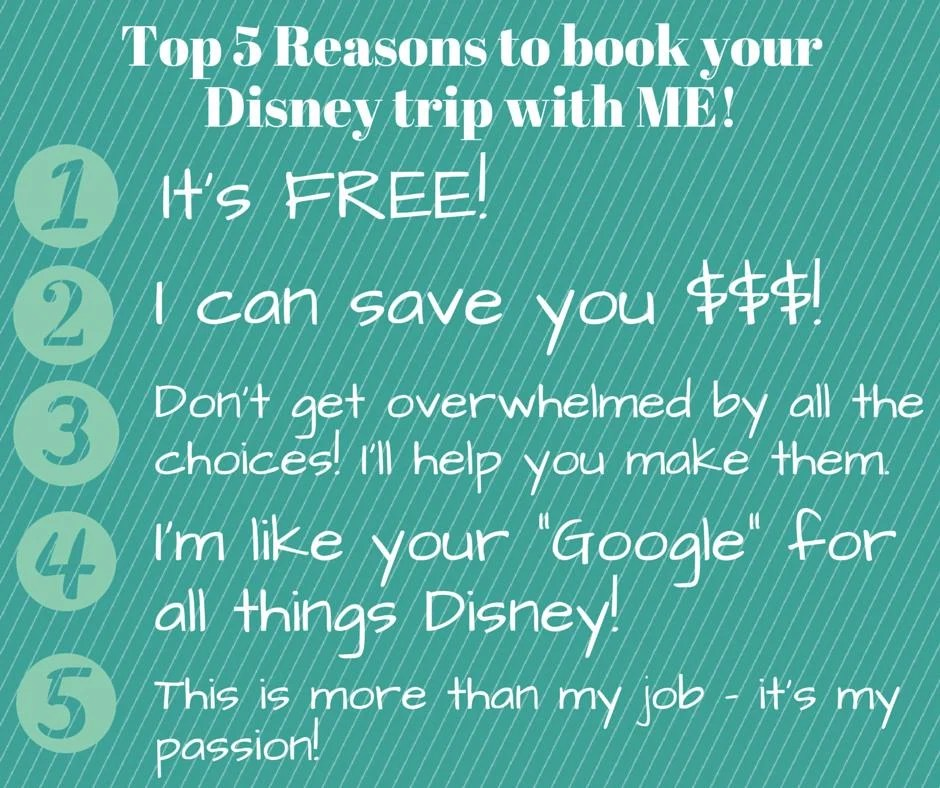 Why You Need a Travel Agent (ME!) to Book a Disney Trip