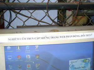Cảnh báo trong cà phê Internet ở Thủ Đức