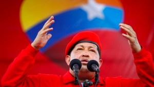 Hugo Chavez phát biểu tại một cuộc mít tinh ở Maracay ngày 1/7/2012 (Reuters)