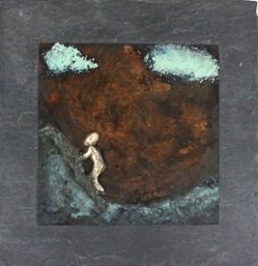 bronzebillede_kunst_bronzeskulptur_lene_purkaer_stefansen_varemaerkebeskyttet_de_hoejeste_bjerge_kan_bestiges