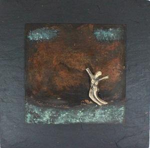 bronzebillede_kunst_bronzeskulptur_lene_purkaer_stefansen_varemaerkebeskyttet_glaed_dig_over_livets_lyse_sider