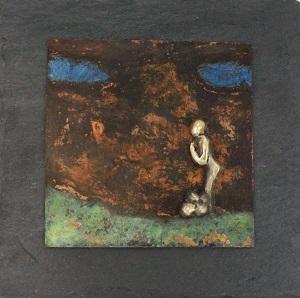 bronzebillede_kunst_bronzeskulptur_lene_purkaer_stefansen_varemaerkebeskyttet_livets_bolde_ligger_for_dine_foedder