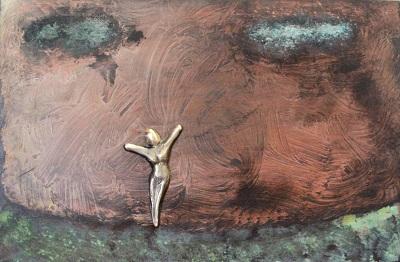 bronzebillede_kunst_bronzeskulptur_lene_purkaer_stefansen_varemaerkebeskyttet_Livet_skal_leves_hverdag