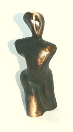 bronzeskulptur_lene_purkaer_stefansen_bronzefigur_kunst_skulpturer_mand_abstrakt