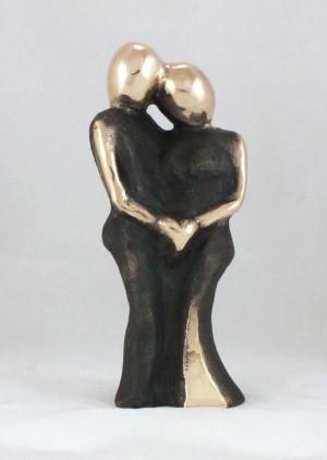 bronzeskulptur_lene_purkaer_stefansen_En_dans_af_kaerlighed_din_kind_mod_min