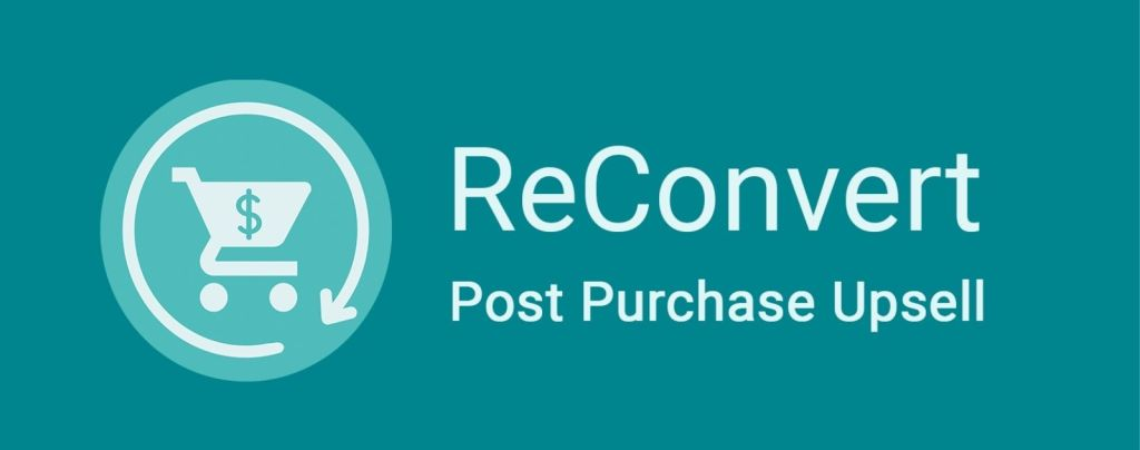 logo reconvert post purchase upsell
