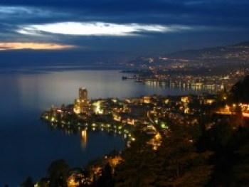 View from Glion Switzerland