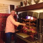 Auberge de Dully: the chicken place
