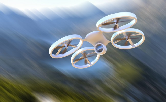 http://www.dreamstime.com/stock-photos-unmanned-aerial-vehicle-drone-flight-blury-background-image40465343