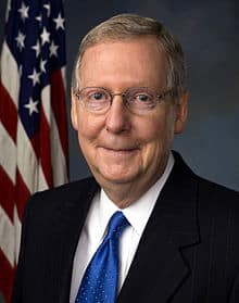 Senator Mitch McConnell will now become the Majority Leader and the USA's second most powerful politician after the President.