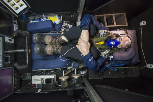 Bertrand Picard Solar Impulse simulator