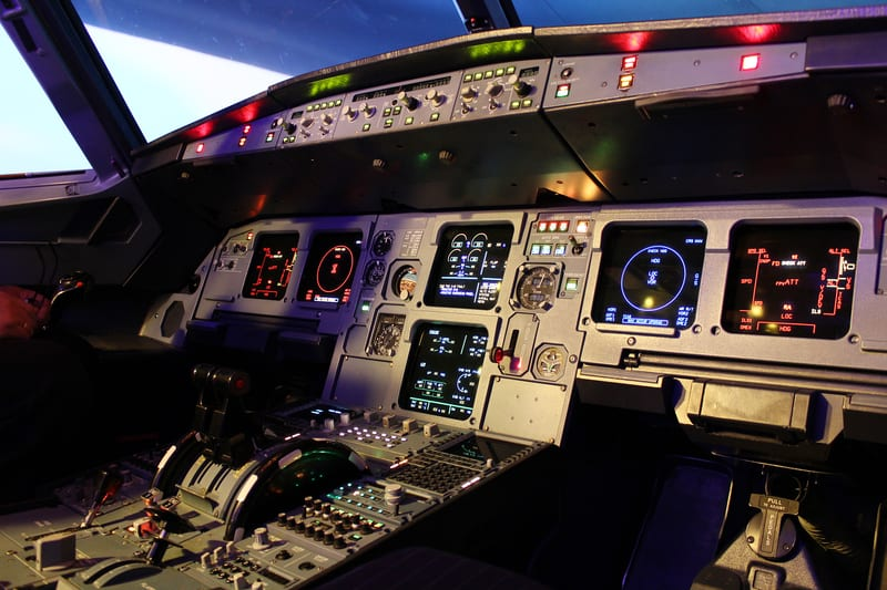 A320 cockpit Germanwings
