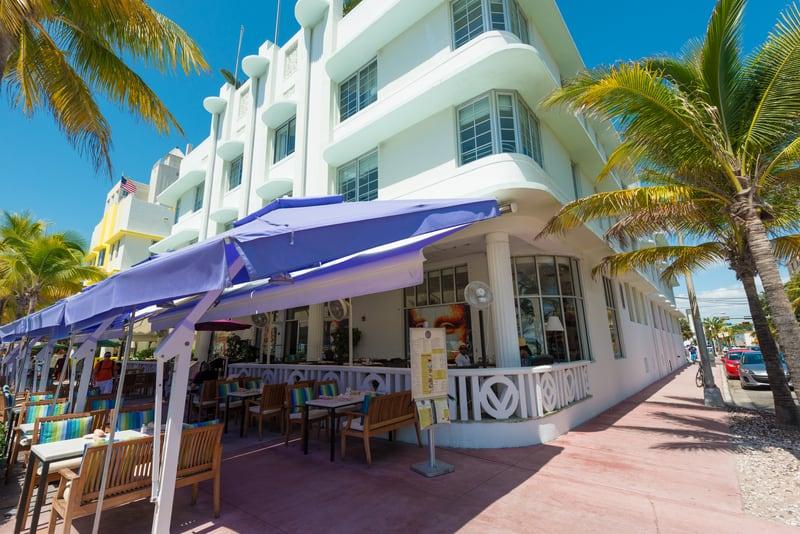 © Kmiragaya | Dreamstime.com - Art Deco Architecture At Ocean Drive In South Beach, Miami Photo