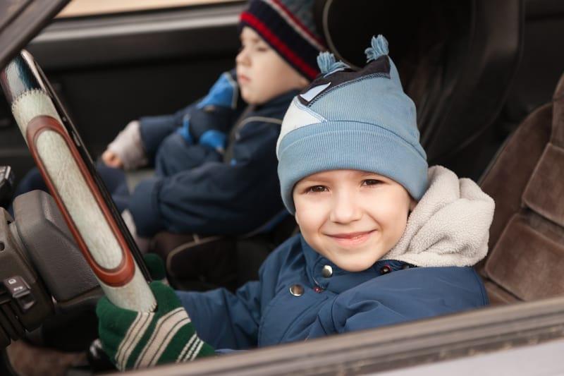 Kids driving