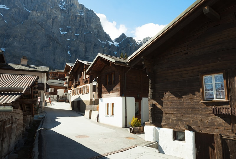 Leukerbad village