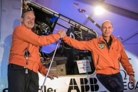 Solar impulse 2 launch abu dhabi