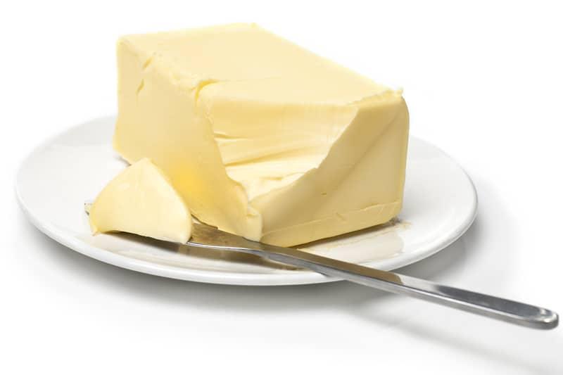 Diet sabotage butter