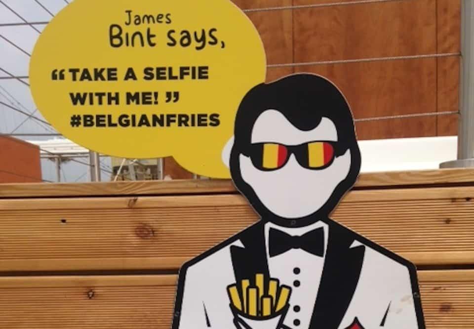 Belgian selfie