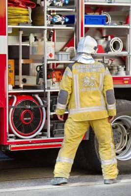 Geneva fireman