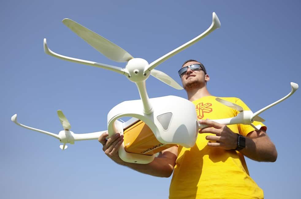 Swiss post drones - Source: Swiss Post