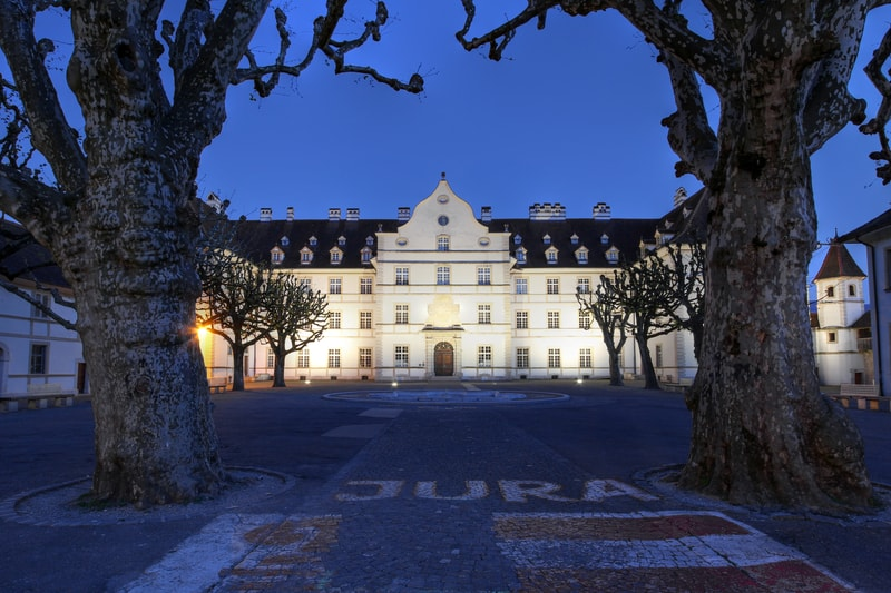 Chateau de Delemont Jura - © Mihai-bogdan Lazar | Dreamstime.com