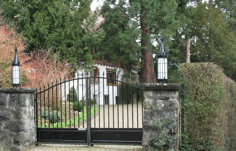 David Bowie's old house in Blonay, Switzerland