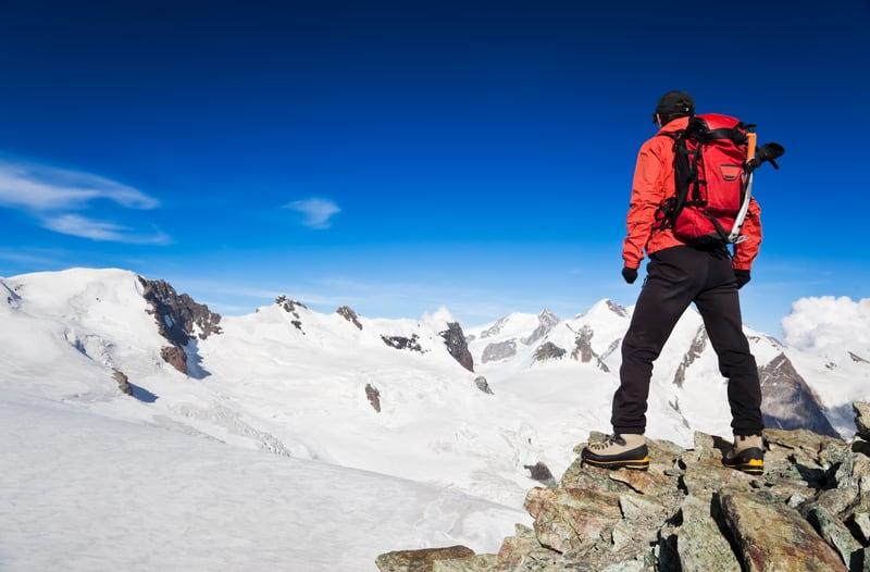 Mountain hiking Switzerland - © Roberto Caucino | Dreamstime.com