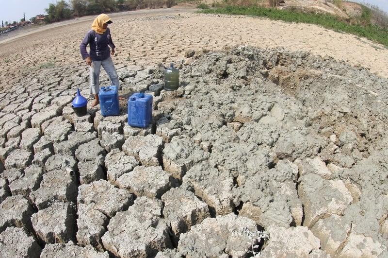 Drought in Indonesia - © Akbar Solo | Dreamstime.com