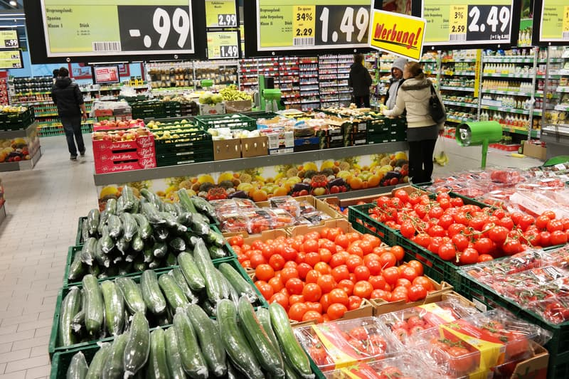 Kaufland Germany much cheaper than Switzerland - © Rene Van Den Berg | Dreamstime.com