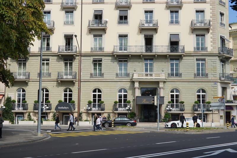 Apartments in Geneva - © Tea | Dreamstime.com