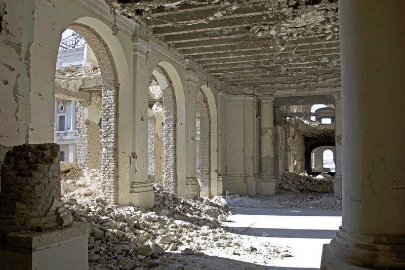 Darul Aman palace Kabul - © Acobhouse | Dreamstime.com