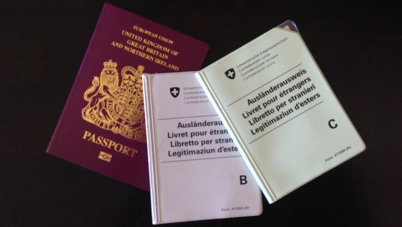 Brexit and Swiss residency permits