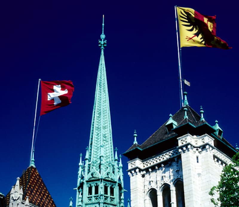 Geneva's constitution requires religious neutrality - © Peter Gorman | Dreamstime.com