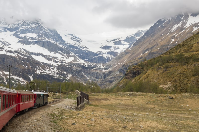 Approaching the Bernina Pass - © Aigarsr | Dreamstime.com