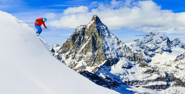 Places to go for early season skiing in Switzerland