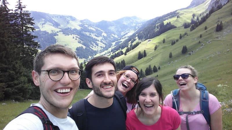 Dersim with friends in Switzerland