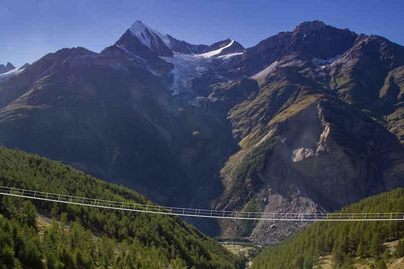 World's Longest Suspension Bridge Opens In Switzerland: Randa Switzerland Map At Slyspyder.com