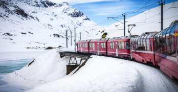 The Rhaetian Railway – probably Switzerland's best train journey