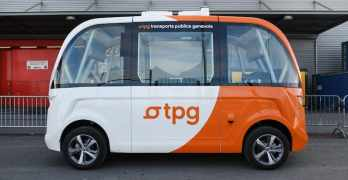 Driverless buses spotted in Geneva