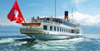 Lake Geneva's beautiful paddlewheel boats – getting there is way more than half the fun