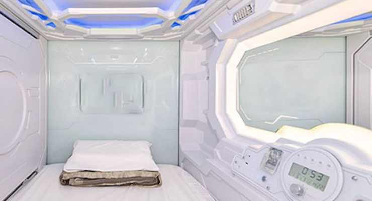 Switzerland gets its first capsule hotel