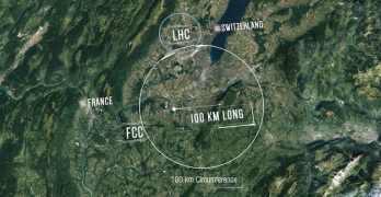 CERN unveils plan for new super-sized collider
