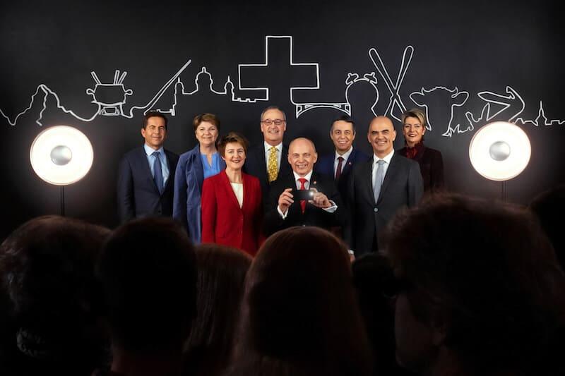 Switzerland's new president for 2019