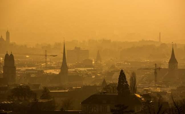 Zurich smog