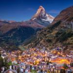 Zermatt temporarily cut off after rock fall