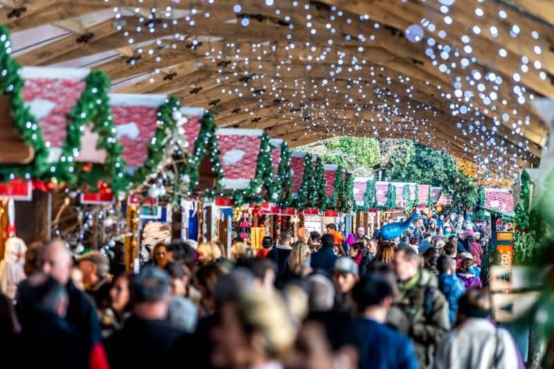 Montreux Christmas market