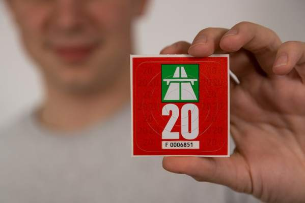 2020 Swiss highway sticker
