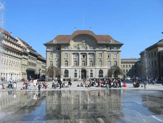Swiss National Bank expects annual profit of 49 billion francs